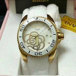 (1 LEFT) Brand new Invicta Women's White watch